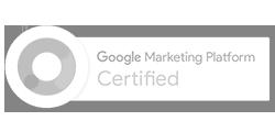 Google Marketing Platform Certified